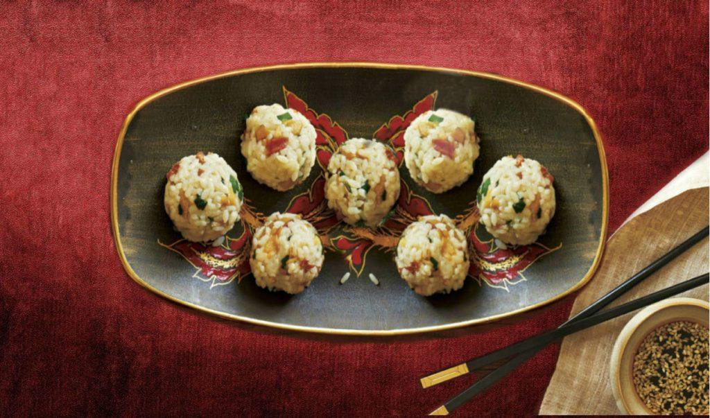 Хар-гау - шарики из креветок, риса и зелени